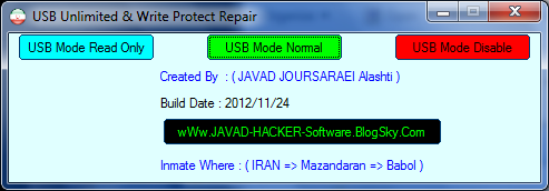 USB Unlimited & Write Protect Repair